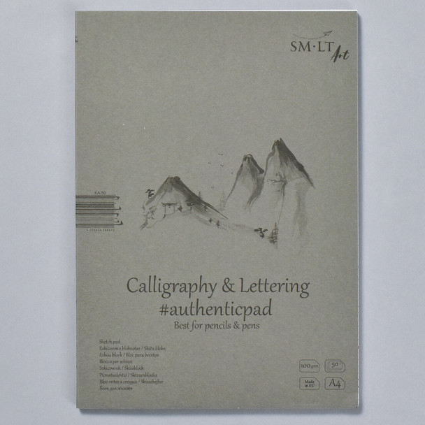 SMLT Authentic Sketch Pad for Calligraphy and Lettering in Folder