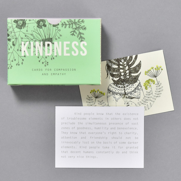 Kindness Pocket Prompt Cards, box and cards