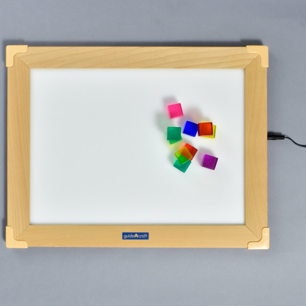 Led Activity Tablet, with color cubes