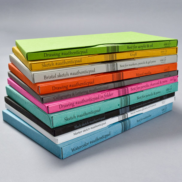 SMLT Authentic Pads in Folders • Library of 10