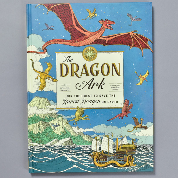 Front of book Dragon Ark: Join the Quest to Save the Rarest Dragon on Earth