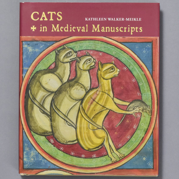 Front of book Cats in Medieval Manuscripts