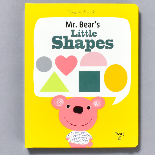 Front of book Mr. Bear's Little Shapes