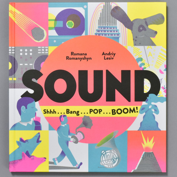 Front of book Sound: Shhh...Bang...POP...BOOM!