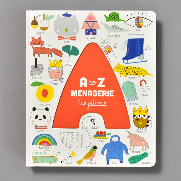 A to Z Menagerie, front cover