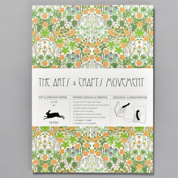 Arts and Crafts Movement Gift and Creative Wrap Papers Vol 92, front