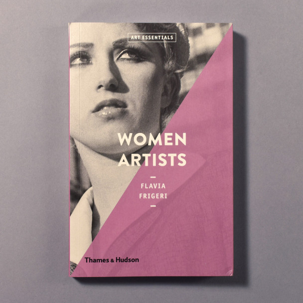 """Cover of the book """"Women Artists"""" by Flavia Frigeri"""