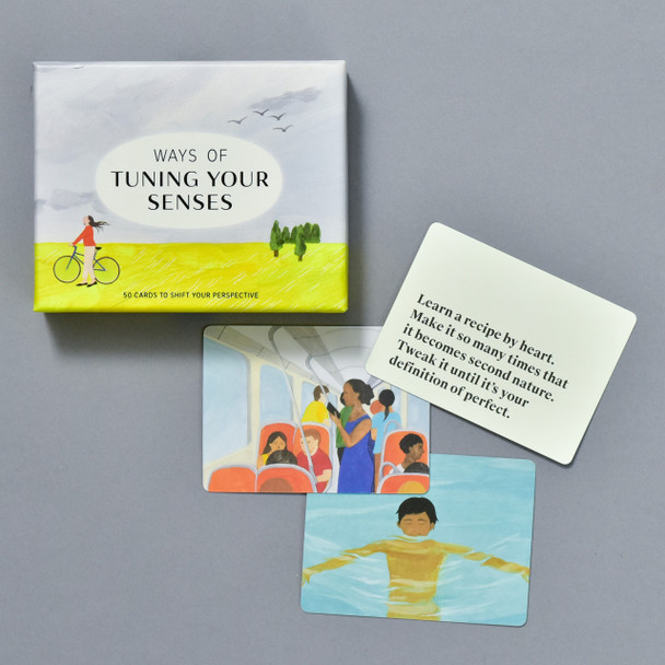 Ways of Tuning Your Senses, front of box and cards
