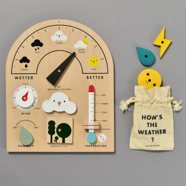 My Weather Station by Moon Picnic, contents