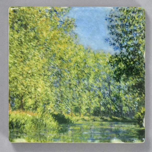 Monet: Bend in the Epte River near Giverny Tile