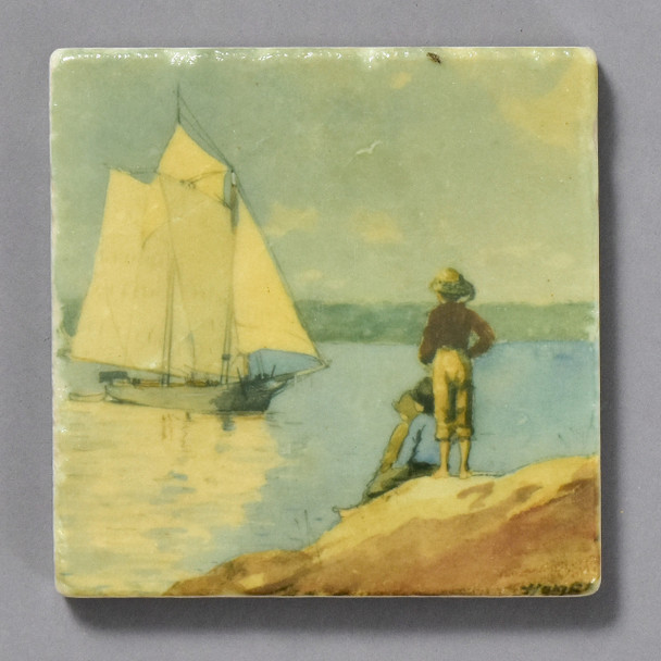 Homer Clear Sailing Tile by The Painted Lily