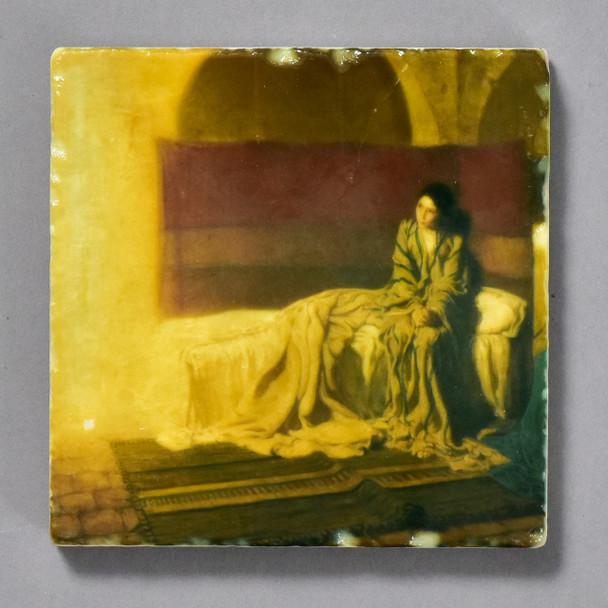 Tanner Annunciation Tile by The Painted Lily