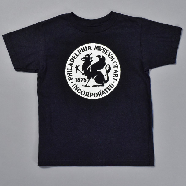 Philadelphia Museum of Art Griffin Kids T-Shirt, toddler, front