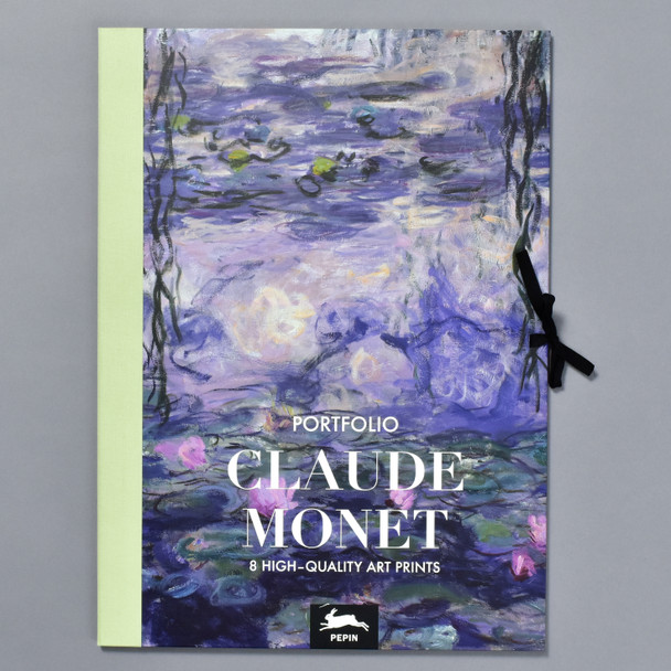 Monet Art Portfolio, front of portfolio