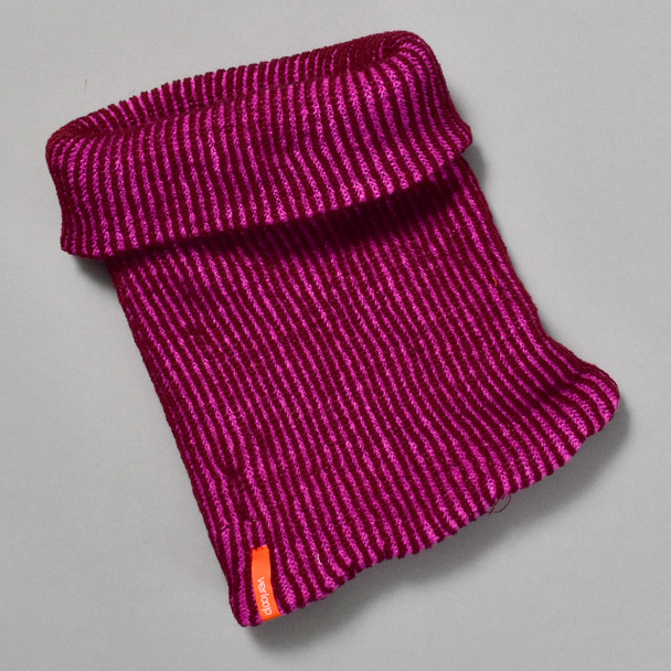 Knit Snood Scarf Magenta