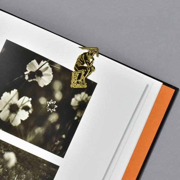 Rodin: The Thinker Bookmark, in book