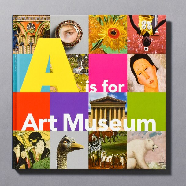 """cover of the book """"A Is For Art Museum"""""""