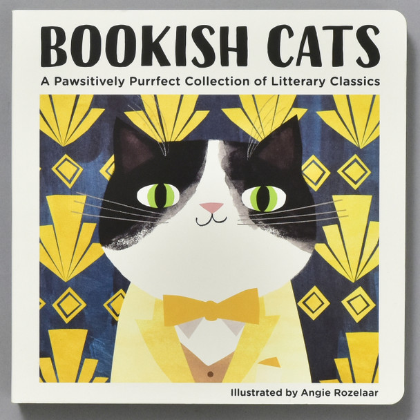 Front cover of Bookish Cats