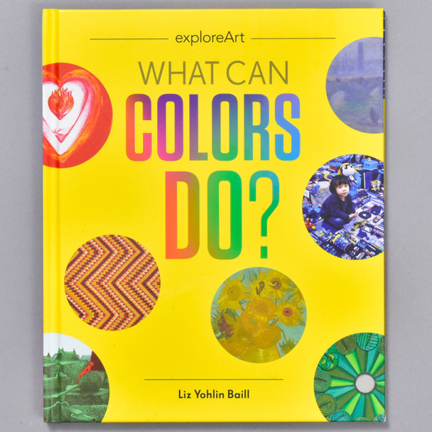 Front cover of the book What Can Colors Do?