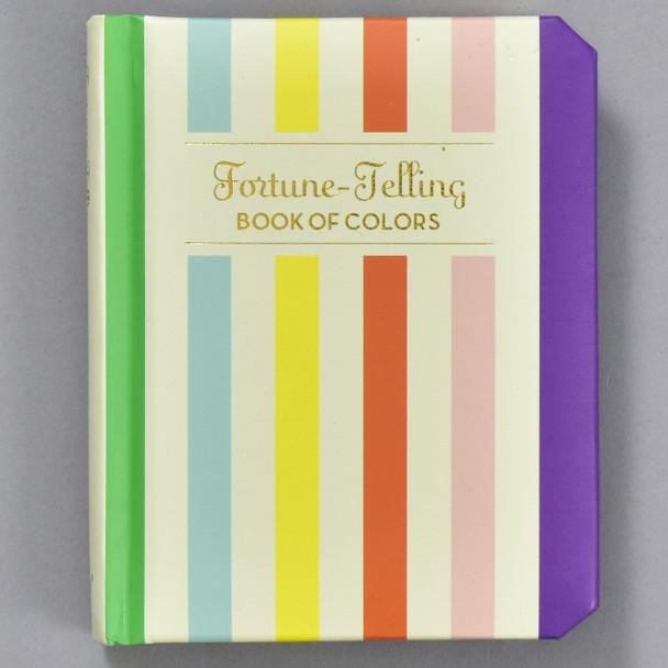 Cover of the Fortune-Telling Book of Colors