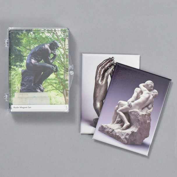 Rodin Magnet Set, case and magnets