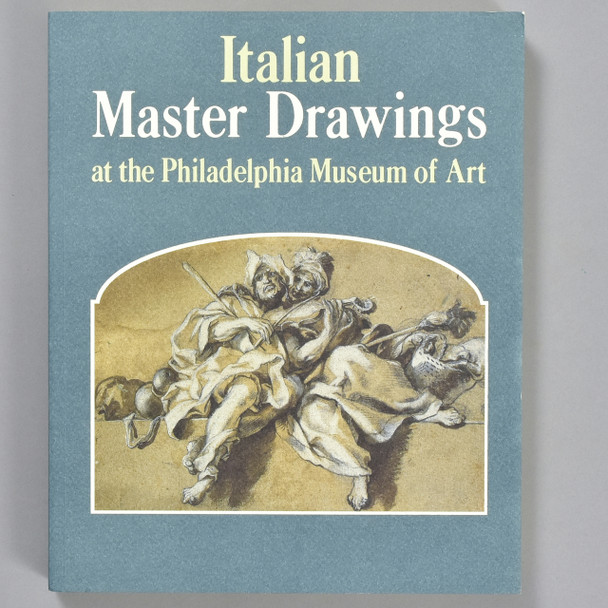 Front cover of the book Italian Master Drawings