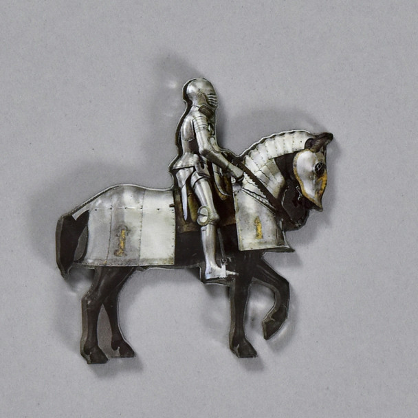 Horse and Man Armor Magnet