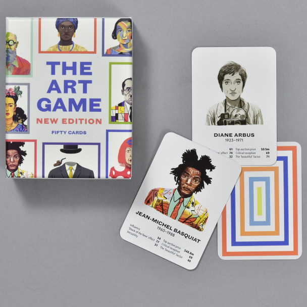 The Art Game, box and cards