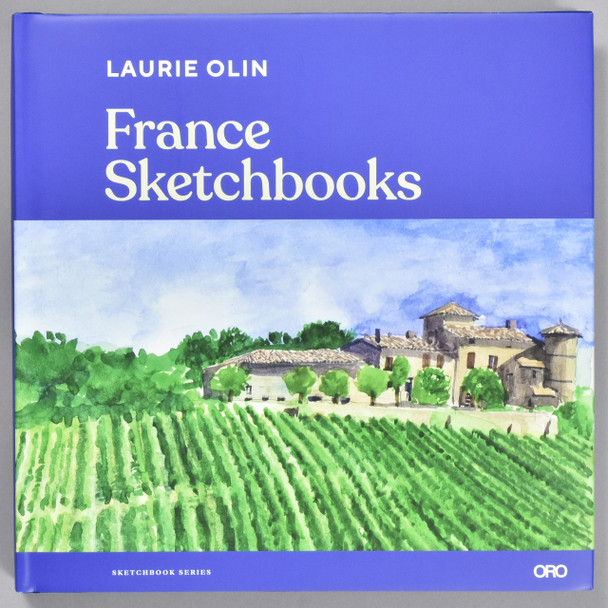 Front cover of the book France Sketchbooks