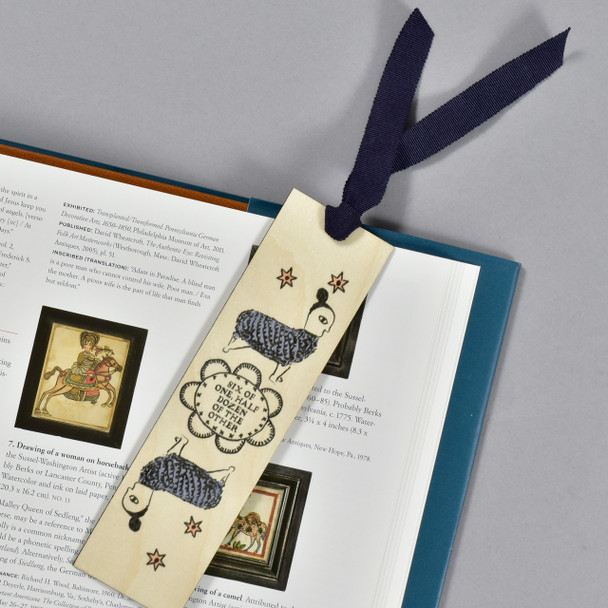 Six of One Bookmark in book