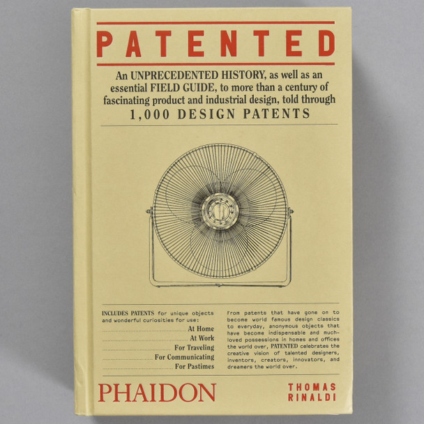 Front cover of the book Patented: 1,000 Design Patents