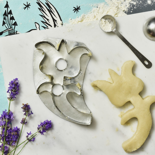 Tulip Cookie Cutter Reproduction, with baking items
