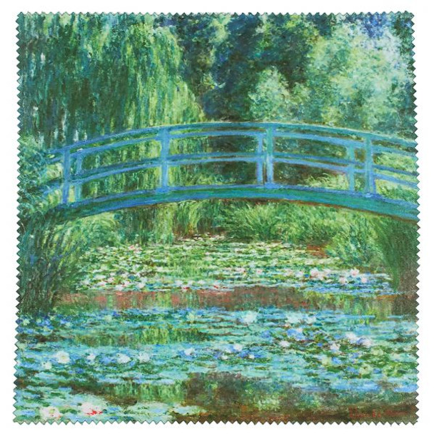The Japanese Footbridge And The Water Lily Pool, Giverny Lens Cleaning Cloth