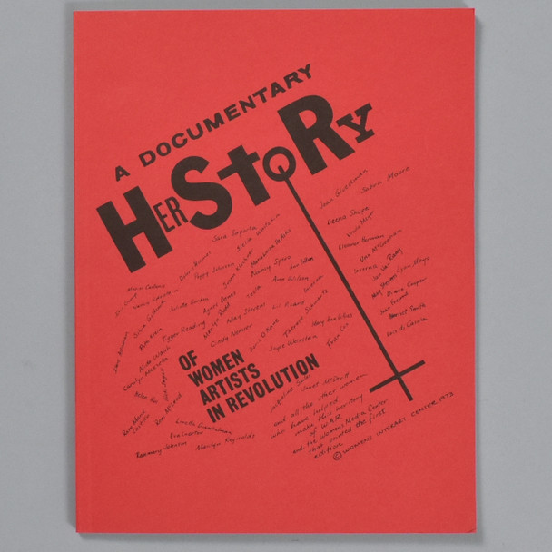 Front cover of the book A Documentary HerStory of Women Artists in Revolution