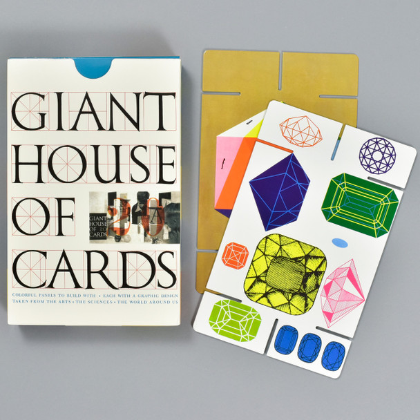 Giant House of Cards, box and cards