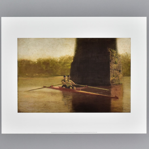 Eakins: The Pair-Oared Shell Archival Poster
