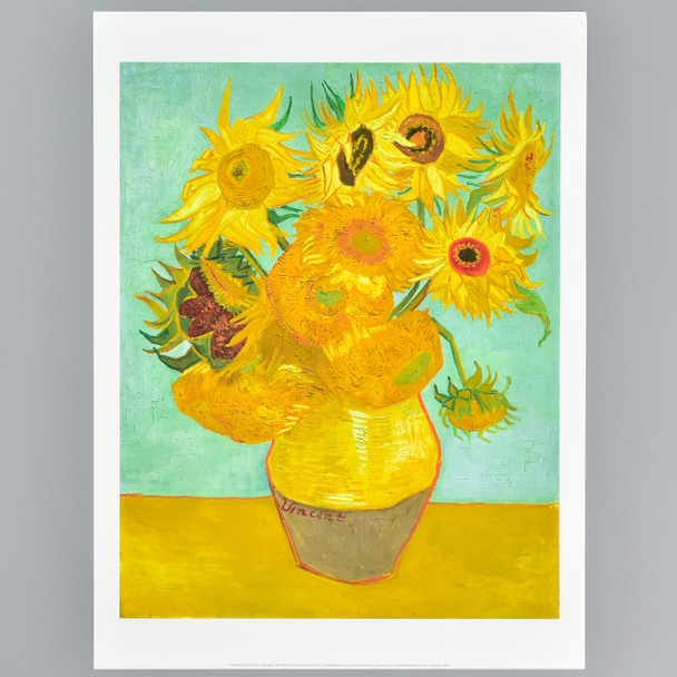van Gogh Sunflowers, 1888 or 1889 Archival Poster