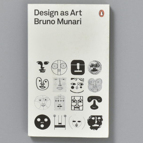 Front cover of the book Design As Art