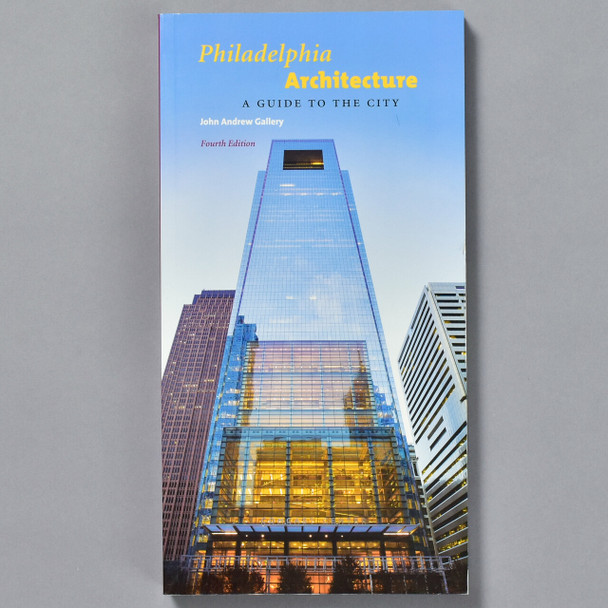 """Front of book """"Philadelphia Architecture: A Guide To The City"""""""