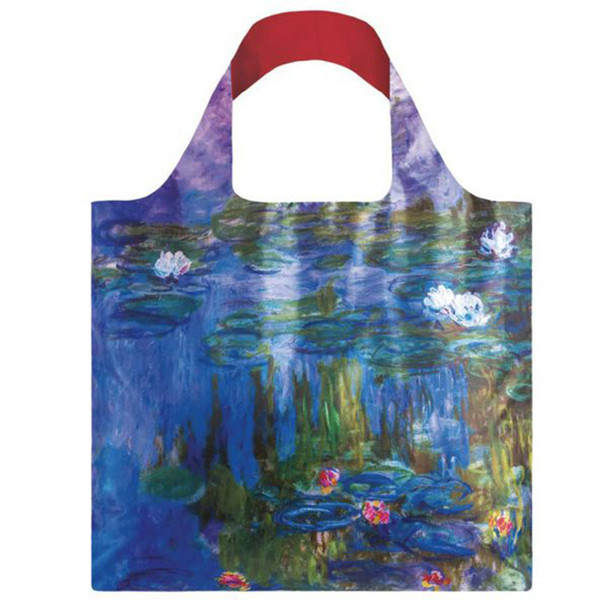 Water Lilies Folding Tote