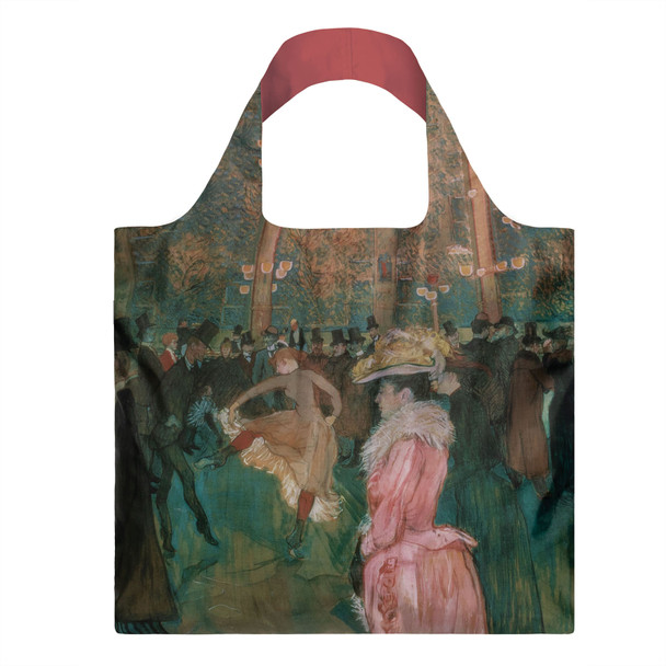 At The Moulin Rouge Shopping Tote