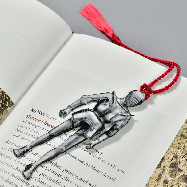 Armor For Use On Horseback In The Field Bookmark in book