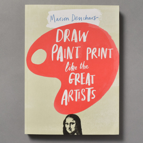 Front of Draw Paint Print Like the Great Artists