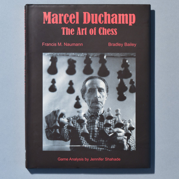Front cover of book Marcel Duchamp: The Art of Chess