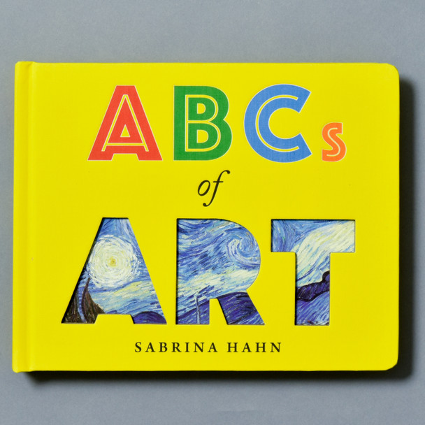 Front of book ABCs of Art