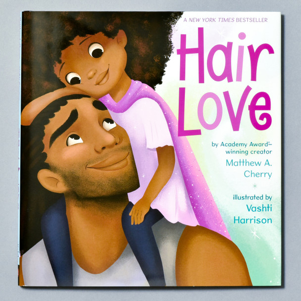 Front of book Hair Love