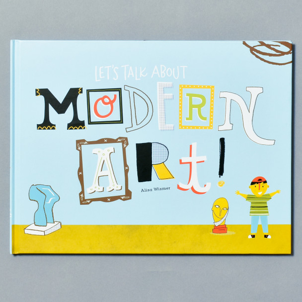 Cover of book Let's Talk About Modern Art