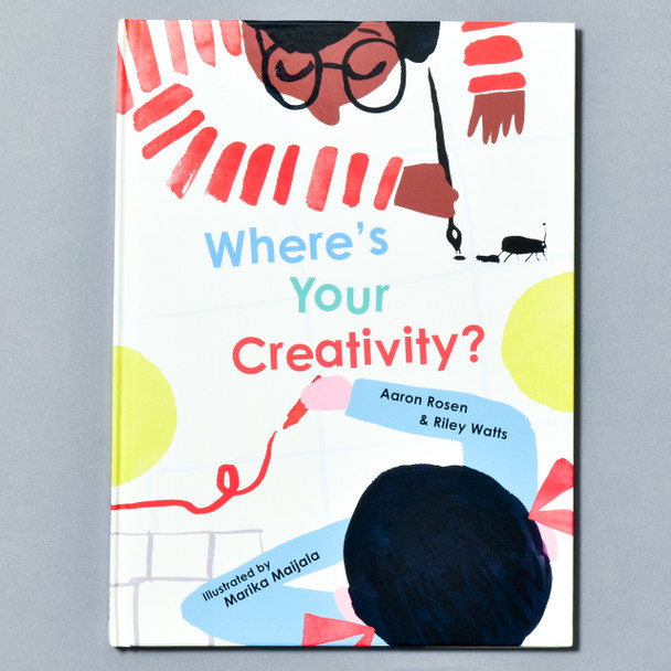 Front of book Where's Your Creativity?