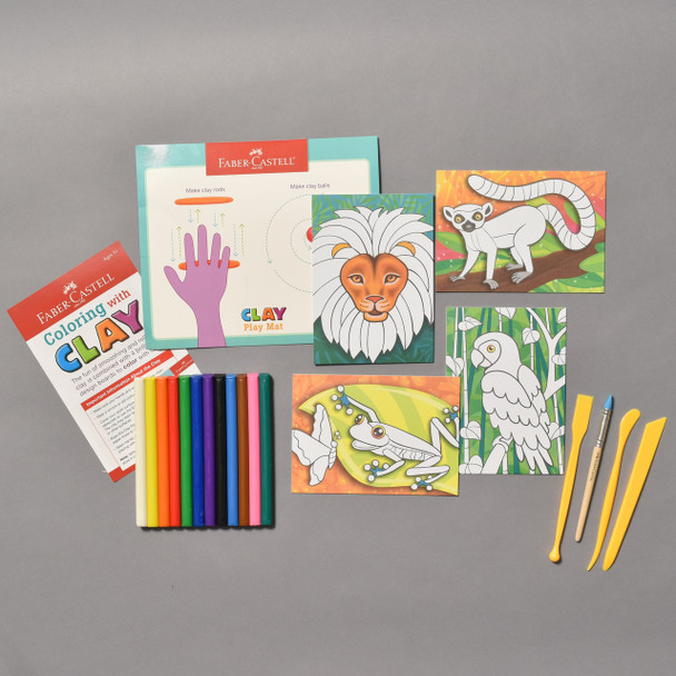 Contents of Coloring With Clay