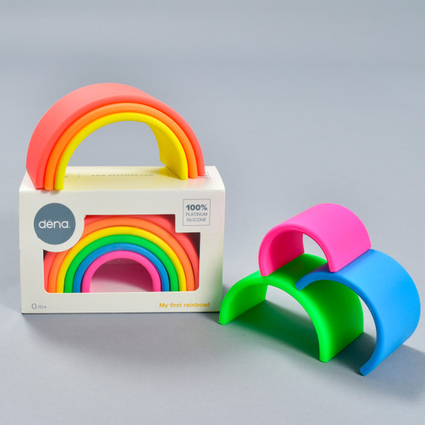 Dena Neon Rainbow, packaging and pieces